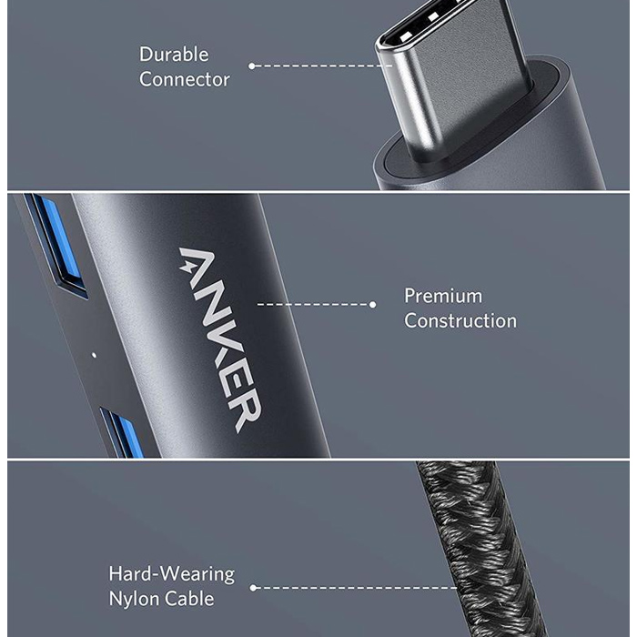 Anker PowerExpand+ 5 in 1 USB-C Ethernet Hub